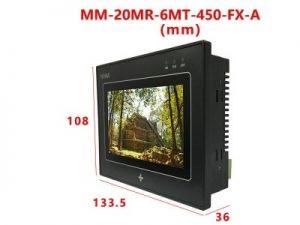 Kích thước thiết bị MM-20MR-6MT-450-FX-A