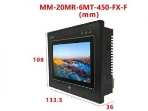 Kích thước thiết bị MM-20MR-6MT-450-FX-F