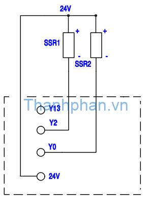 Bản vẽ điện SSR MM-20MR-6MT-450-FX-F
