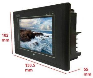 Kích thước ngoài màn hình ykhmi 4.5 inch