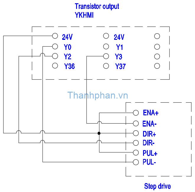 Bản vẽ điện động cơ bước MM-40MR-12MT-700-FX-C
