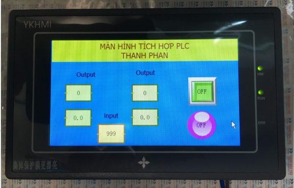 Màn hình YKHMI 4.3 inch tích hợp PLC FX1S