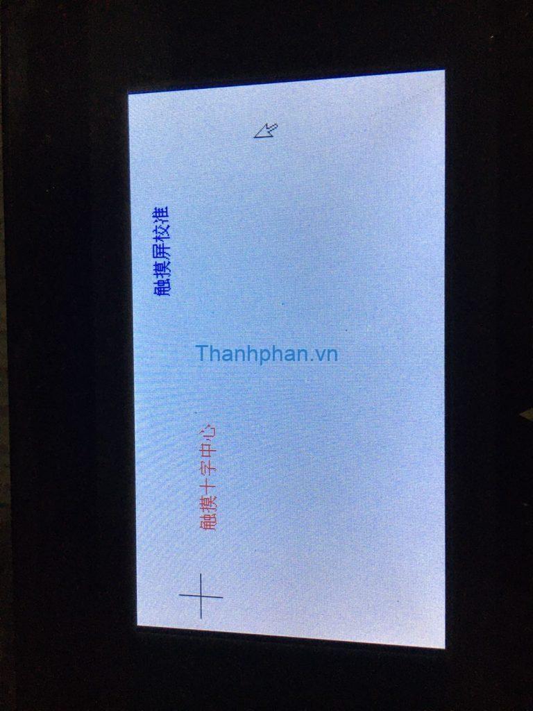 màn hình kiểm tra cảm ứng